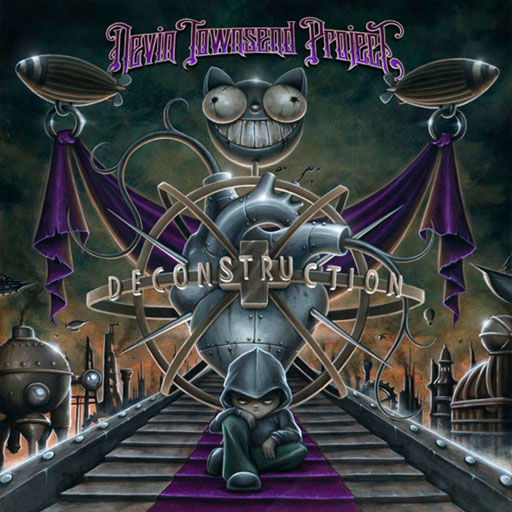 Devin Townsend Project- Deconstruction CD Cover